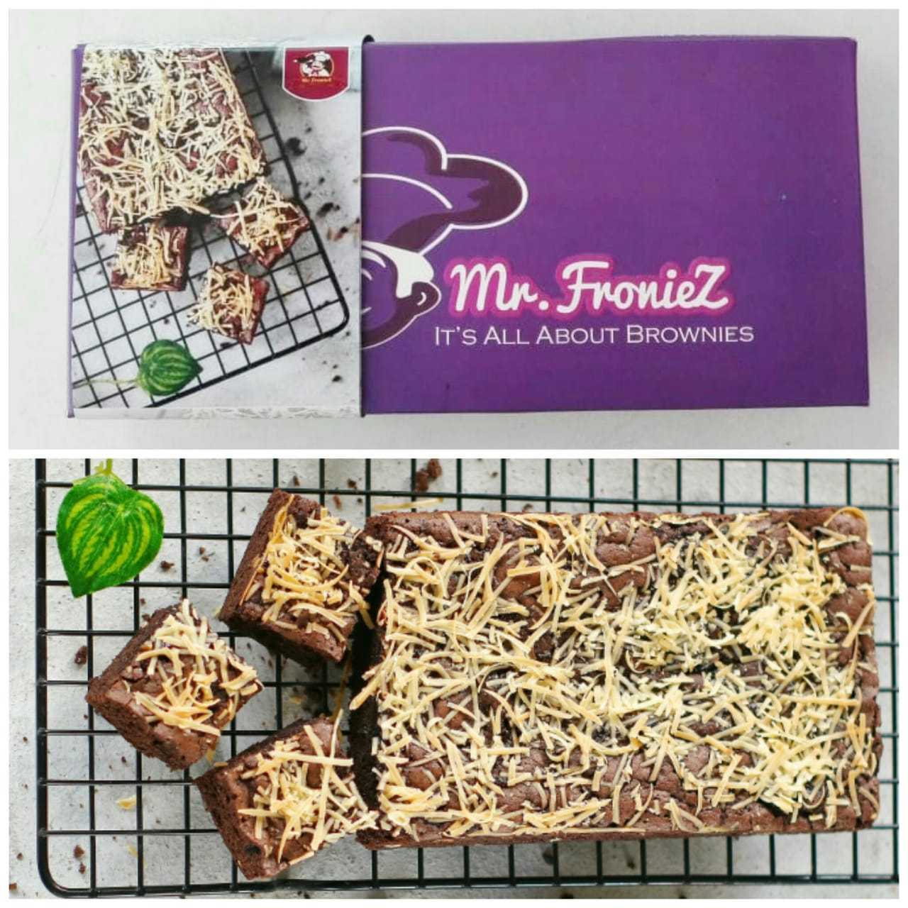Brownies Panggang Keju