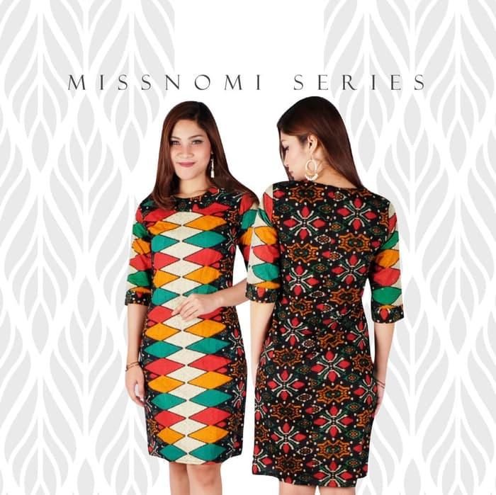Dress Batik Full Colour